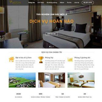 Web khách sạn 002