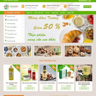 Web shop thực phẩm