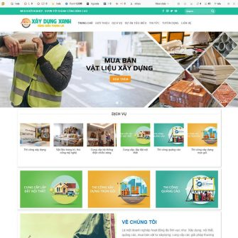 Web xây dựng